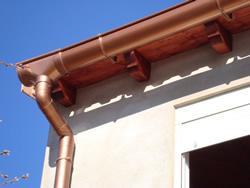 Grifo detalle canal pvc tipo cobre - Canalon de cobre ...