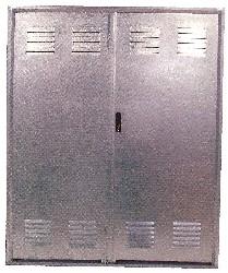 Grifo puertas galvanizadas for Puertas galvanizadas