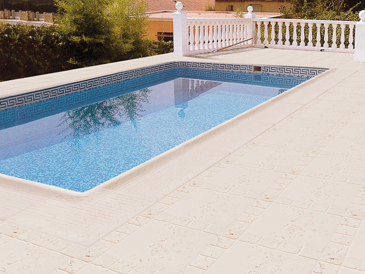 Grifo materiales de construcci for Borde piscina hormigon